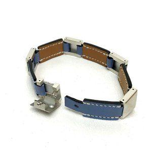 HERMES Medor J time Bracelet Blue Based/SilverHard